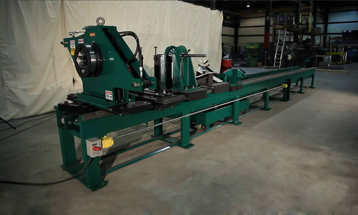 Hydraulic Cylinder Disassembly Table | HCRS-4P | WTC