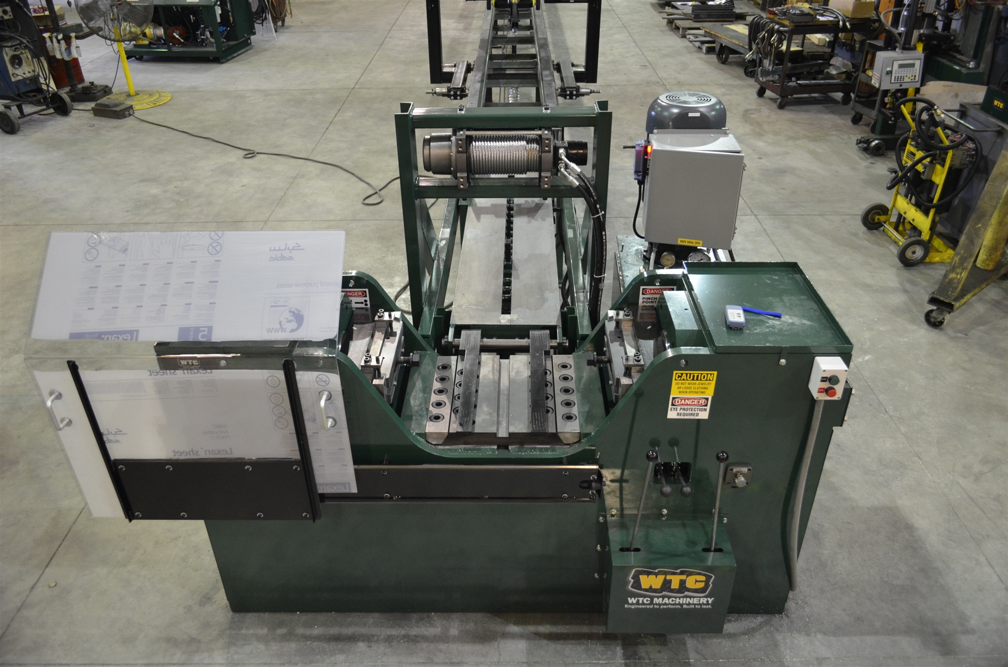200T Track Press | Hydraulic Track Pin Press For Sale | WTC